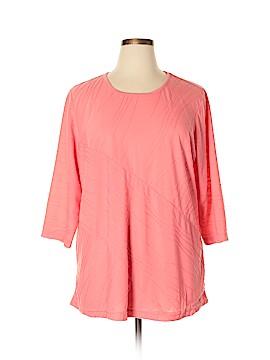 C.D. Daniels 3/4 Sleeve Top Size 2X (Plus)