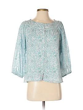 Madras 3/4 Sleeve Blouse Size XS