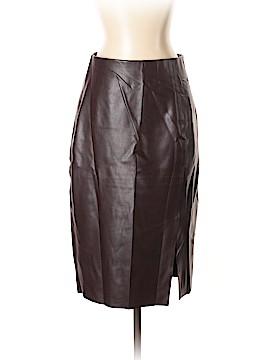 Ann Taylor LOFT Faux Leather Skirt Size 4
