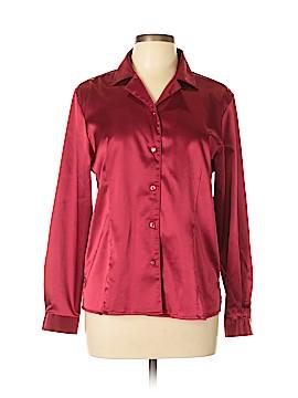 Kathie Lee Long Sleeve Blouse Size L