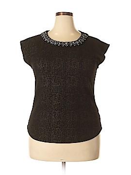 Liz Claiborne Short Sleeve Top Size XL