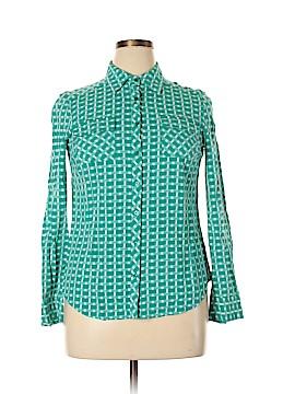 Cremieux Long Sleeve Button-Down Shirt Size L