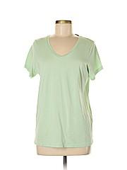 Hue Women Short Sleeve T-Shirt Size M