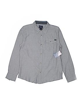 Lucky Brand Long Sleeve Button-Down Shirt Size M (Kids)