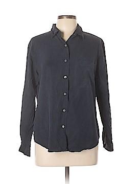 Lands' End Long Sleeve Silk Top Size 12