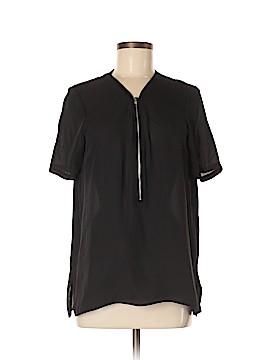 The Kooples Short Sleeve Silk Top Size XL