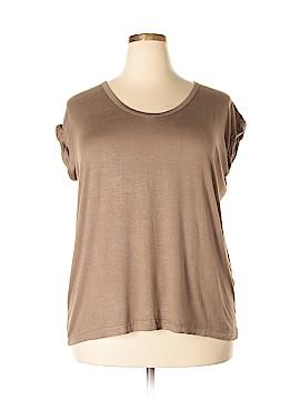 French Laundry Short Sleeve T-Shirt Size 3X (Plus)