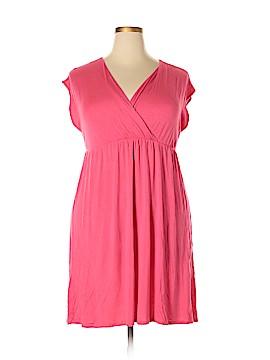Pink Blush Casual Dress Size 1X (Plus)
