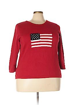 Rafaella Pullover Sweater Size 2X (Plus)