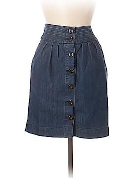 Pilcro and The Letterpress Denim Skirt Size 4