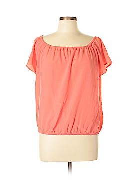 Cynthia Steffe Short Sleeve Blouse Size M