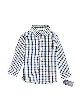 Nautica Long Sleeve Button-Down Shirt Size 24 mo