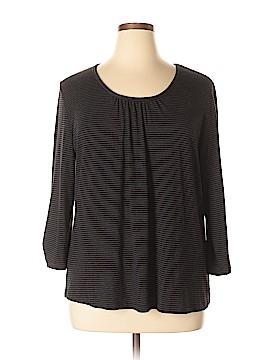 Sejour 3/4 Sleeve Top Size 1X (Plus)