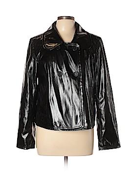 Ann Taylor LOFT Faux Leather Jacket Size 10