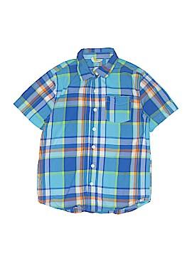 Crazy 8 Short Sleeve Button-Down Shirt Size M (Kids)