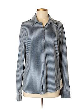 Ruff Hewn Long Sleeve Button-Down Shirt Size M