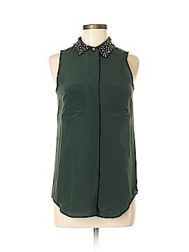 Madewell Sleeveless Silk Top Size S