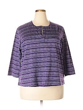 Venezia 3/4 Sleeve T-Shirt Size 28 - 26 Plus (Plus)