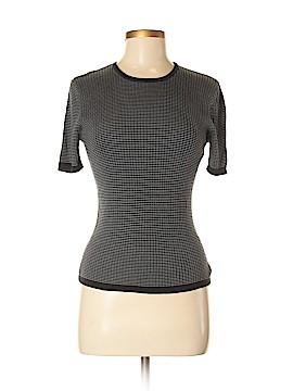 Geoffrey Beene Sport Short Sleeve Silk Top Size M