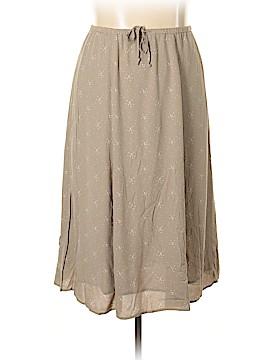 L.L.Bean Casual Skirt Size L