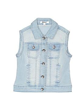 DKNY Denim Vest Size S (Kids)