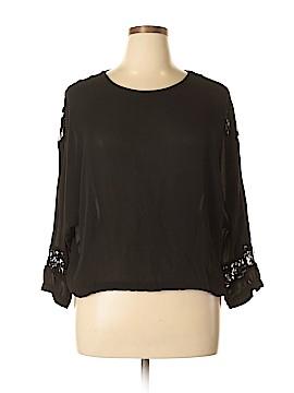 Brigitte Bailey Long Sleeve Blouse Size L