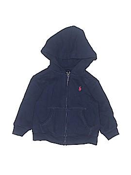 Ralph Lauren Zip Up Hoodie Size 12 mo