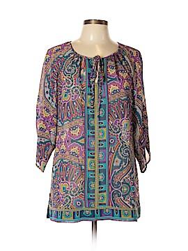 Nicole 3/4 Sleeve Blouse Size L
