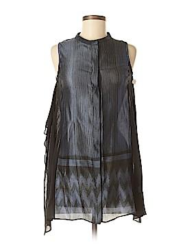 TRYB Sleeveless Silk Top Size S