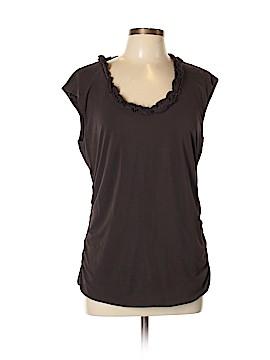 Classiques Entier Short Sleeve Silk Top Size XL