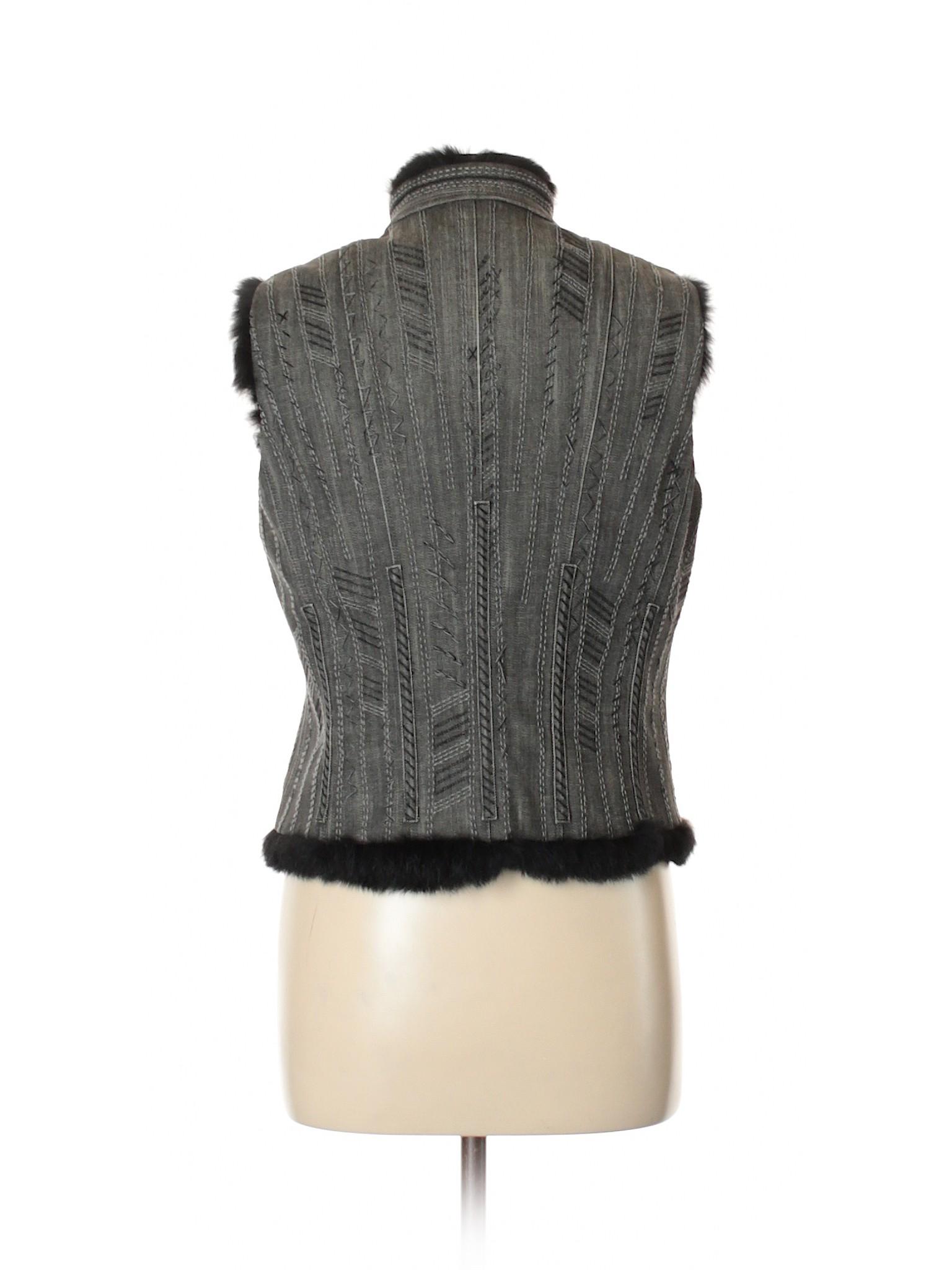Boutique leisure Tahari Elie Vest Denim 4vA46nqw
