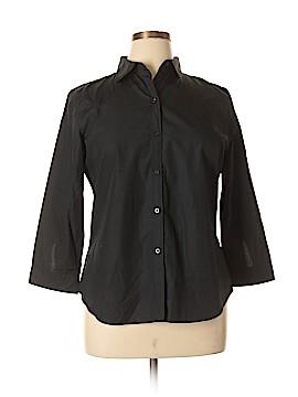 Ralph Lauren 3/4 Sleeve Button-Down Shirt Size L