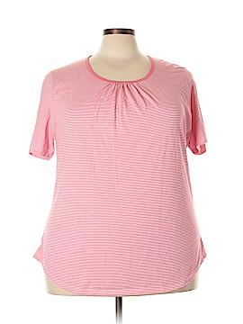 Hanes Short Sleeve T-Shirt Size 3X (Plus)