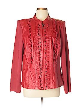 Peter Nygard Leather Jacket Size XL