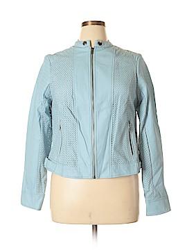 Torrid Faux Leather Jacket Size 0X Plus (0) (Plus)