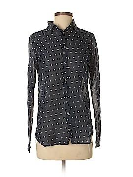 J. Crew For PIAMITA Long Sleeve Button-Down Shirt Size 2