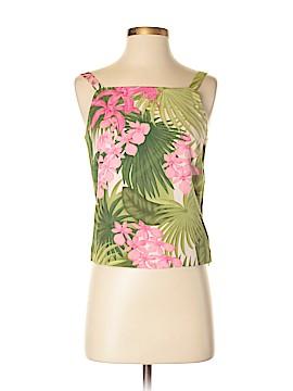 Tommy Bahama Sleeveless Silk Top Size 4