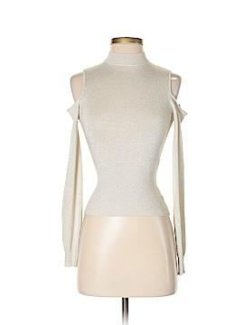 Bebe Long Sleeve Top Size S (Petite)
