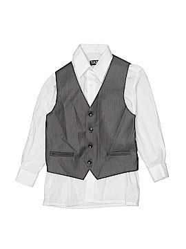 Tazio Tuxedo Vest Size 8