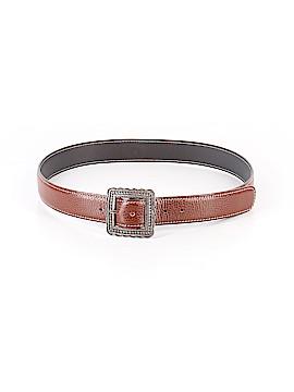 J. McLaughlin Leather Belt Size Med - Lg