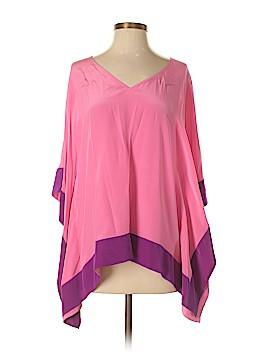 Jay Godfrey 3/4 Sleeve Silk Top Size 4