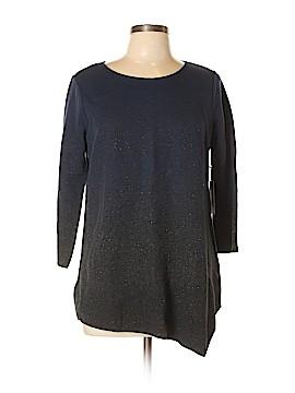 Simply Vera Vera Wang 3/4 Sleeve Top Size L