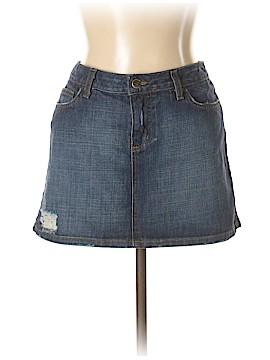 Lux Denim Skirt 32 Waist