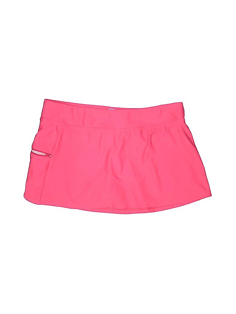 605f8714b8 Beach Diva Solid Pink Swimsuit Bottoms Size 14 - 81% off   thredUP