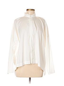 Eskandar Long Sleeve Button-Down Shirt Size 6 (0)