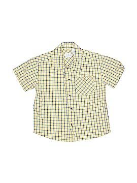 TKS Short Sleeve Button-Down Shirt Size 3T