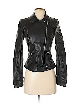 Trafaluc by Zara Faux Leather Jacket Size XS