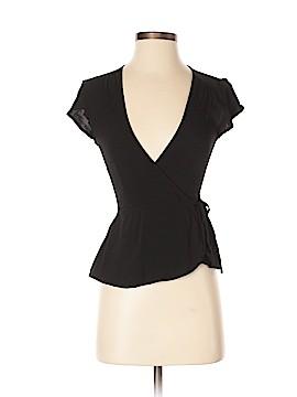 TOBI Short Sleeve Silk Top Size S