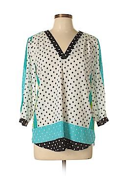 ECI 3/4 Sleeve Blouse Size L
