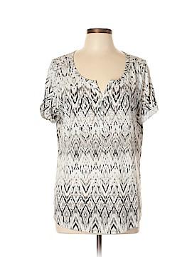 SONOMA life + style Short Sleeve Henley Size XL